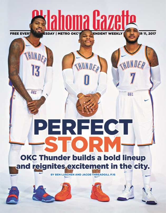 d1217d1d5ee Cover Story  The Thunder s lightning-quick resurgence has Oklahoma ...