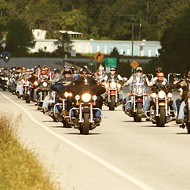 Motorcycle club rides to benefit disabled