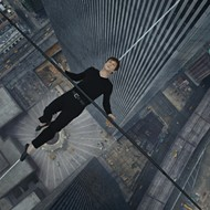 "Starring Joseph Gordon-Levitt (Inception) as renowned French high-wire artist Philippe Petit, the movie tells the story of one man's journey to be the first person to walk ""the void"" between the World Trade Center's twin towers in 1974."