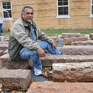 USAO students continue the work of artist Jesús Moroles