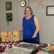 The Craft Room's Cathy Sabin uses her background to bring art classes to the Paseo