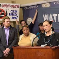 Local natives and environmentalists focus on a proposed pipeline in Oklahoma