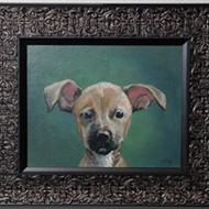 Artist Mark Moad's pet portraits have become popular holiday gifts