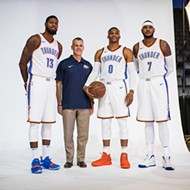 Cover Story: The Thunder's lightning-quick resurgence has Oklahoma City back on the NBA map
