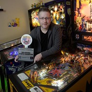 Oklahoma state pinball champion is quick on the flipper