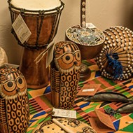 Nichols Hills market sells artisan trade gifts benefiting education in Ghana
