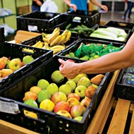The Urban Mission's food resource center is on track to distribute more than 1 million pounds of food to families in need this year.