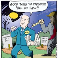 Cartoon: Whistling Through the Graveyard