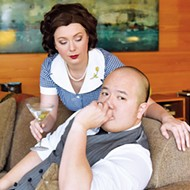André Chiang and Megan Berti star in Leonard Bernstein's <i>Trouble in Tahiti</i>, presented by Painted Sky Opera Jan. 25-27 at CitySpace Theatre.