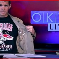 OKV Live showing Ham Loaf Capital Of the Universe tee
