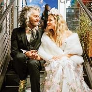 Katy Weaver and Wayne Coyne were wed Jan. 5 on the roof of Plenty Mercantile in downtown OKC.