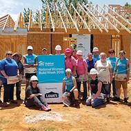 Habitat for Humanity's Women Build Week encourages women volunteers to help build houses for people in their communities.