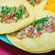 Chelino's Mexican Restaurant is unveiling carnitas tacos for Taco Week, for which three tacos are available for $6.99 with rice and beans.
