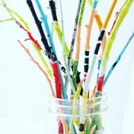 Happy painty sticks