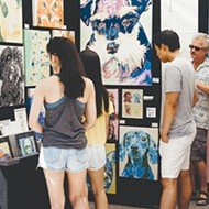 The 43rd annual Paseo Arts Festival takes place over Memorial Day weekend, May 25-27, in The Paseo Arts District.