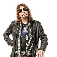 Ace Frehley plays Rocklahoma on Sunday.