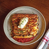 Sparrow's 100-layer lasagna takes three days to prepare.