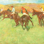 """""""At the Races: Before the Start"""" by Edgar Degas"""