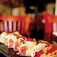 The Marylin Monroll is a roll made without rice.