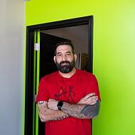 David Liebensohn, owner of Project Releaf