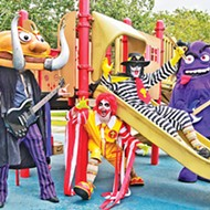 "The band's fast-food-themed parodies of Black Sabbath songs include ""More Ribs"" (""War Pigs"") and and ""Frying Pan"" (""Iron Man"")."