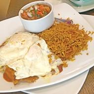 El Huevo Mexi-Diner combines breakfast and Mexican favorites.