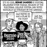 Cartoon: Feel the Bern