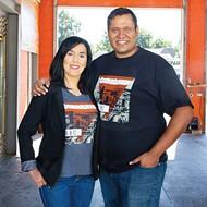 Crudoolandia owner Nancy Soto Hallman and husband Greg Hallman