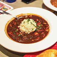 Chicken and sausage gumbo from Razzoo's Cajun Cafe