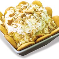 Banana pudding is made to-order at Smoked Out.