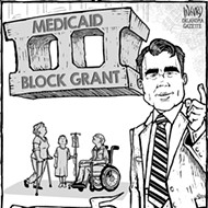Cartoon: Block head