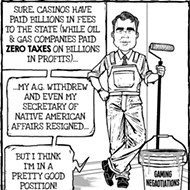 Cartoon: Gamblin' man