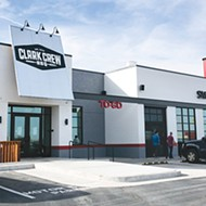 Clark Crew BBQ is located at 3510 Northwest Expressway in the former Macaroni Grill location.