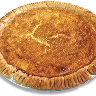 A Buttercheese Pie at Heifers & Hens is also known as buttermilk or chess pie.
