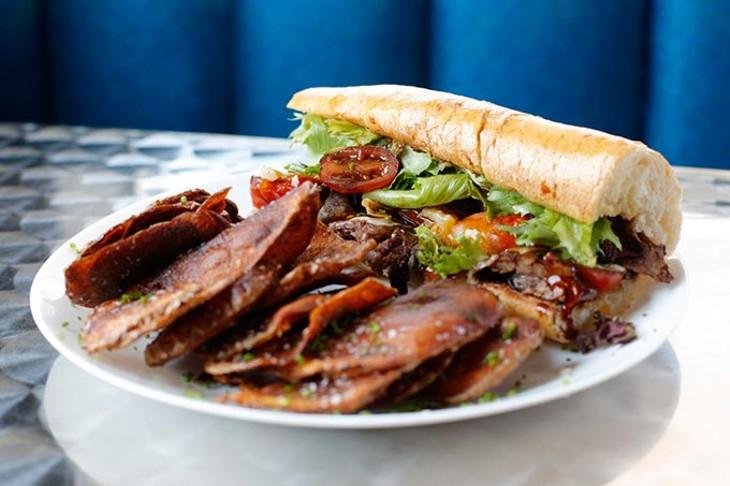 """Soy-f and Turf"" Sandwich (Garett Fisbeck)"