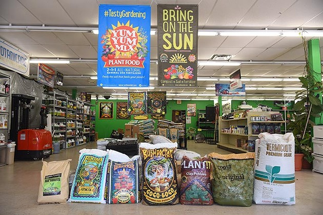 They have a wide variety of products for your soil and growing habits, at Organics OKC, 2800 N. Pennsylvania Avenue, 9-25-15. - MARK HANCOCK