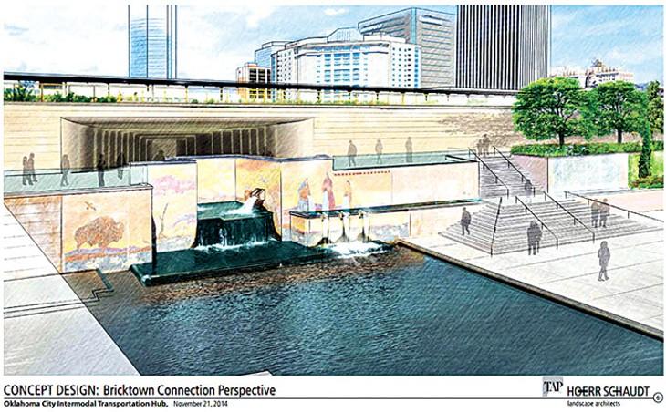 Santa Fe Depot rendering (Provided)