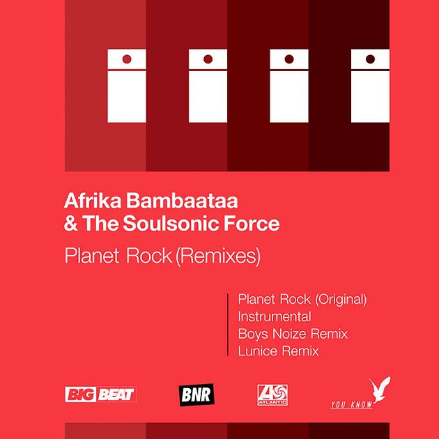 """Afrika Bambaataa & The Soulsonic Force's exclusive RSD 12-inch vinyl remixes of """"Planet Rock"""" (Provided)"""