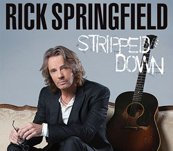 Admat for Rick Springfield 2015-16 North American Solo Tour - ART DIRECTION & GRAPHIC DESIGN:
