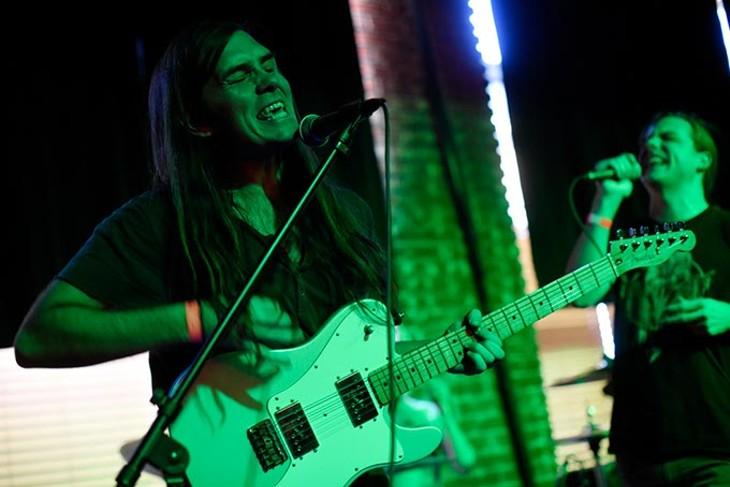 Foxburrows perform at Norman Music Festival 9 in Norman, Friday, April 22, 2016. - GARETT FISBECK