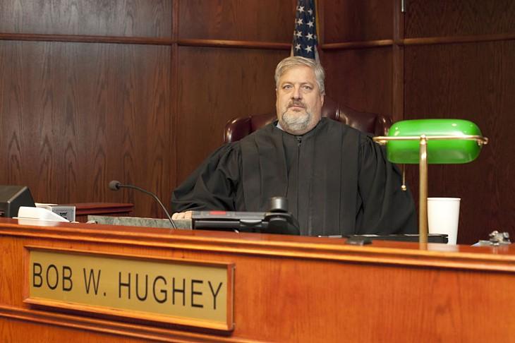 Judge Bob Hughey of Canadian County. - LAUREN HAMILTON