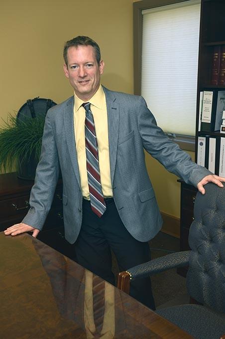 Mid-Del Public Schools Superintendent, Rick Cobb, started his new job Monday, August 3, 2015 coming from Moore Public Schools, 7-29-2015. - MARK HANCOCK