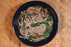 Boat Noodles Soup at Thai Rice & Noodle Cafe in Del City, 12-28-15. - MARK HANCOCK