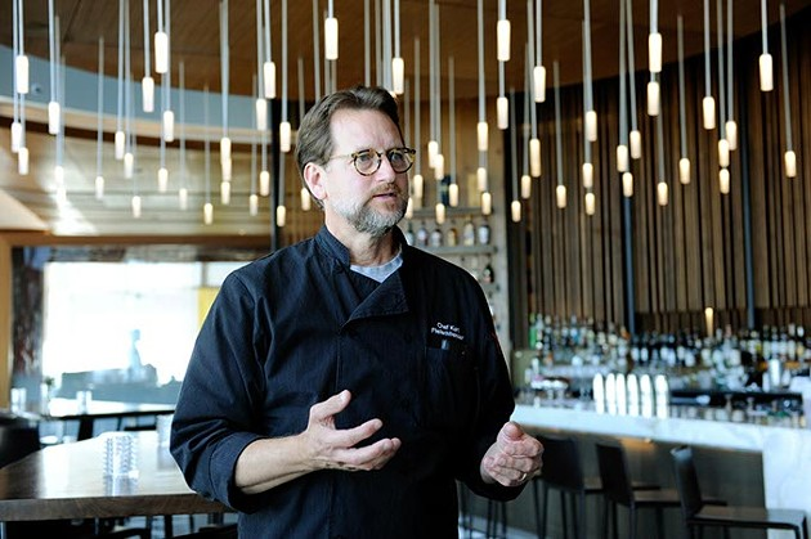 Chef Kurt Fleischfresser talks about changes at Vast in Oklahoma City, Thursday, May 21, 2015. - GARETT FISBECK