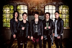 Asking Alexandria - ANN BUSTER / SUMERIAN RECORDS / PROVIDED