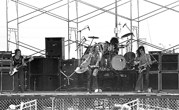 Oklahoma City's first look at Van Halen on August 1978 at the State Fair Grandstand. (Rich Galbraith / Provided)