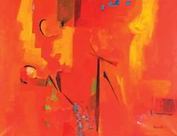 """Red Canyon Rising"" by Louis Ribak"