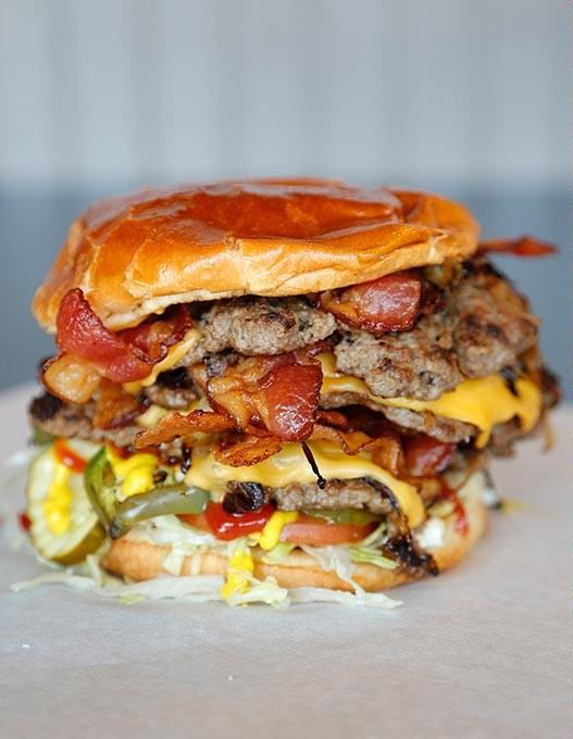 Big Mother Tucker at Tucker's Onion Burgers in Oklahoma City, Monday, May 11, 2015. - GARETT FISBECK