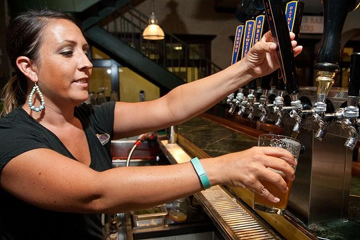 IPA beer at Belle Isle. (Mark Hancock)