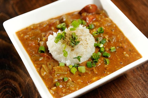 Gumbo at Hillbilly's in Oklahoma City, Tuesday, Dec. 8, 2015. - GARETT FISBECK